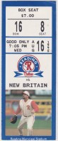 1995 Reading Phillies ticket stub vs New Britain