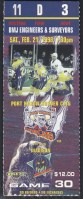 1998 UHL Port Huron Border Cats ticket stub vs Madison