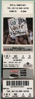 2009 Mark Buehrle Perfect Game ticket stub