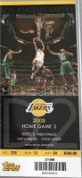 2009 NBA Finals Game 2 ticket stub Magic Lakers