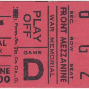 1977 AHL Playoffs Rochester Americans ticket stub vs New Haven