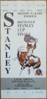 1992 Stanley Cup Final Game 3 ticket stub Chicago Pittsburgh