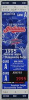 1995 ALCS Game 1 ticket stub Mariners Indians