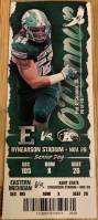 2019 NCAAF Eastern Michigan ticket stub vs Kent State