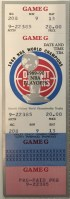 1990 Detroit Pistons 2nd Round Playoff ticket stub vs Bulls