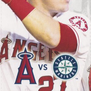 2016 Los Angeles Angels vs Seattle Sep 12