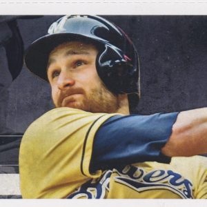 2015 Brewers Full Ticket vs Cubs Rizzo Braun HRs