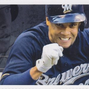 2015 Brewers Full Ticket vs Cubs Rizzo Davis HRs