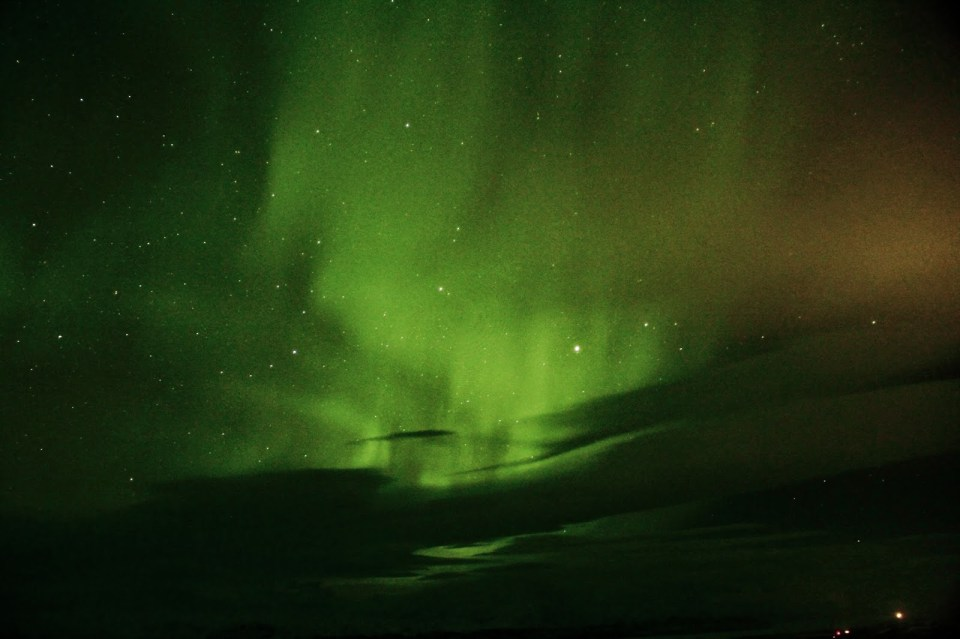 Watching the Northern Lights dance : View from the Aurora Sky Station at Abisko National Park
