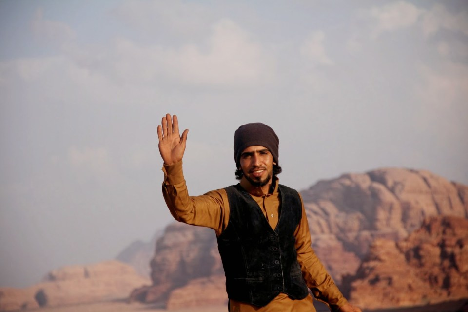 Wadi Rum: Our guide, Aoud