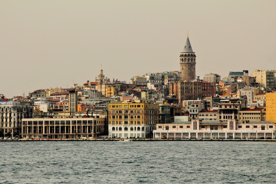 Istanbul: City sights from the Bosphorous