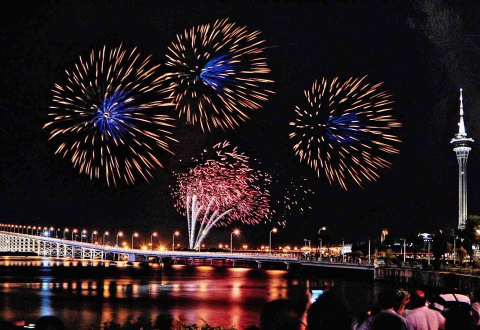 Macau: Fireworks Display Contest (pic courtesy: Macau Tourism)