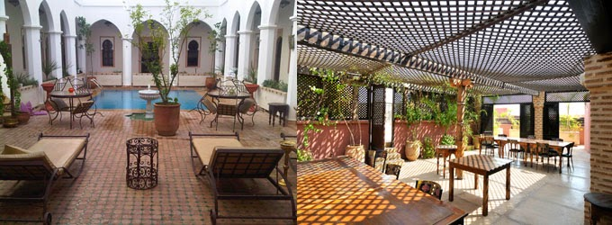 Marrakech: Riad decor of the Equity Point Hostel (pic courtesy: Equity Point Hostel)