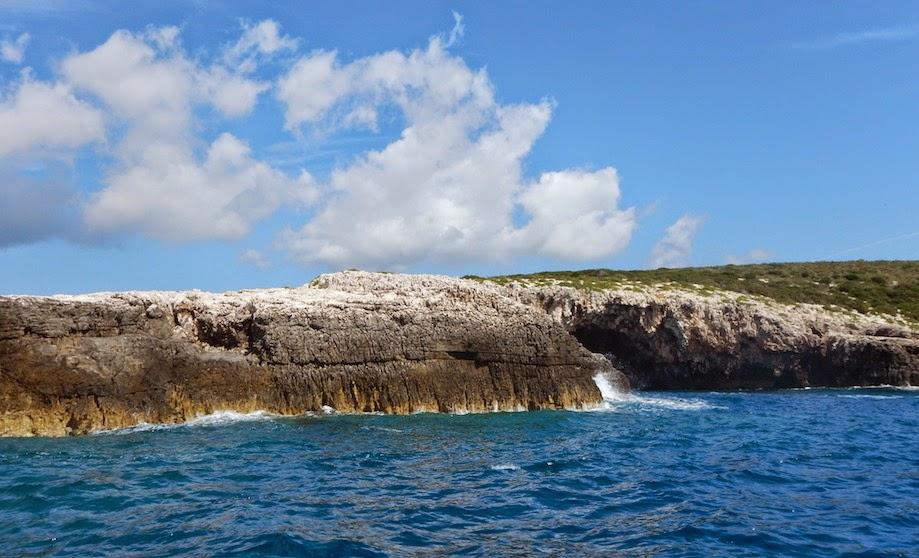 Island hopping... cruising along