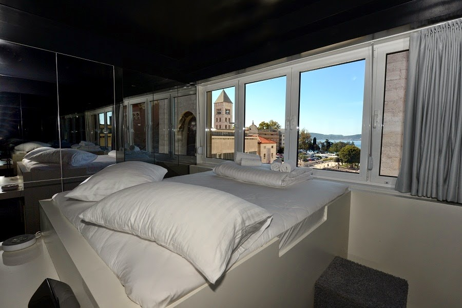 View from the room (pic courtesy: Hostel Forum Zadar)