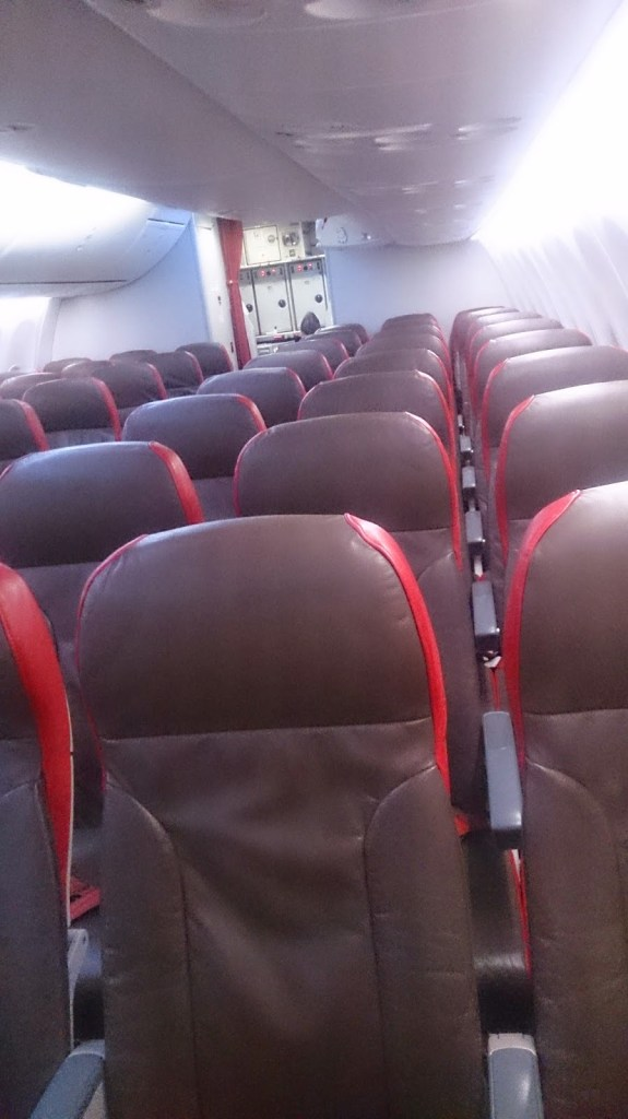 Low occupancy on the Mumbai- KL leg