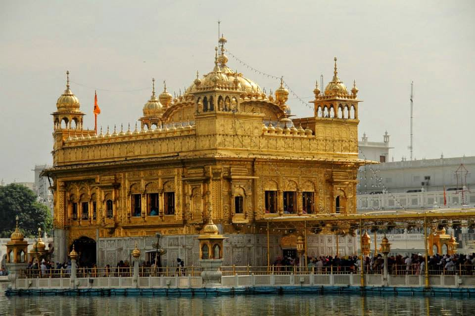 Harmandar Sahib, popularly known as the Golden Temple