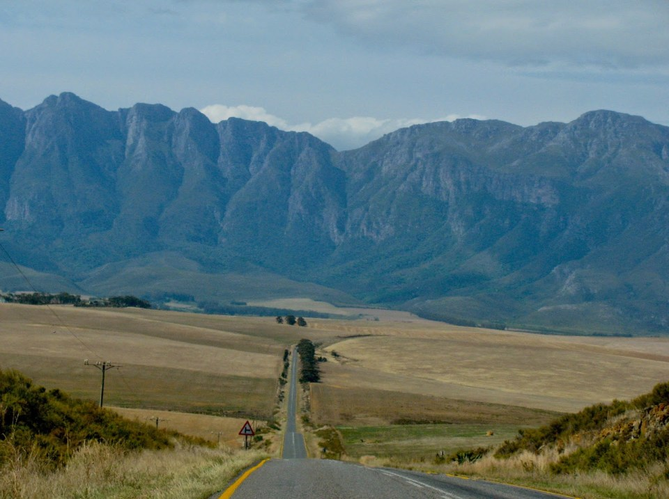 Scenic South African countryside