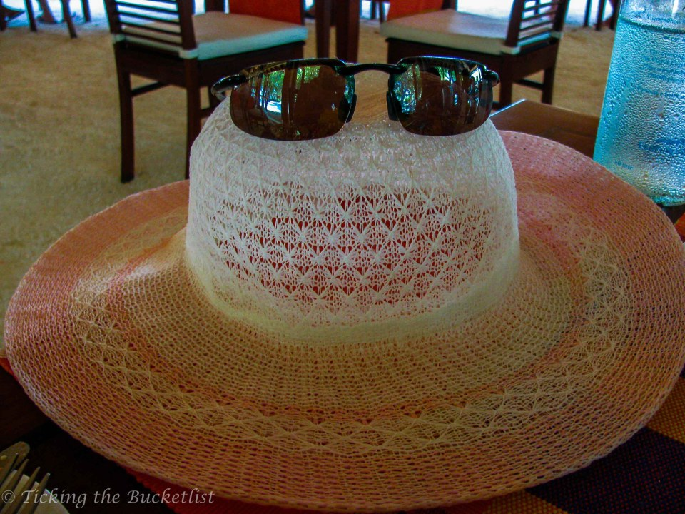 No beach vacation without a sun hat!