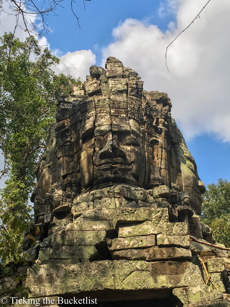 Enigmatic smile of Bayon....
