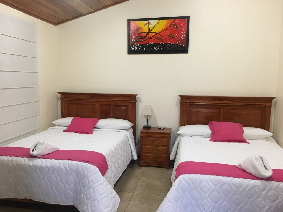 My room at San Vincente, Isabela Island