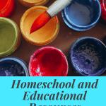 Homeschool Websites and Resources Part 1