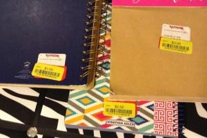 Journals, TJMaxx Clearance Haul