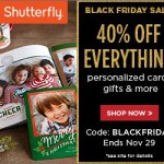 **Online Deals: Shutterfly Cards, Photo Books up to 40% Off. Limited Time**