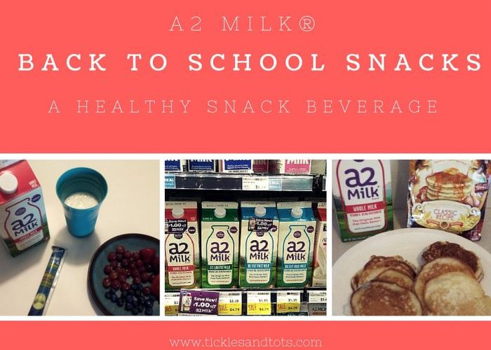 Bring Back the Afternoon Snack with a2 Milk®! #a2Milk, #IC #ad