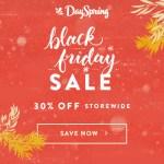 DaySpring Black Friday Sale, 30% Off Sitewide Sale