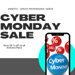 Cyber Monday Sale – Save 35% Off on all Animoto Plans