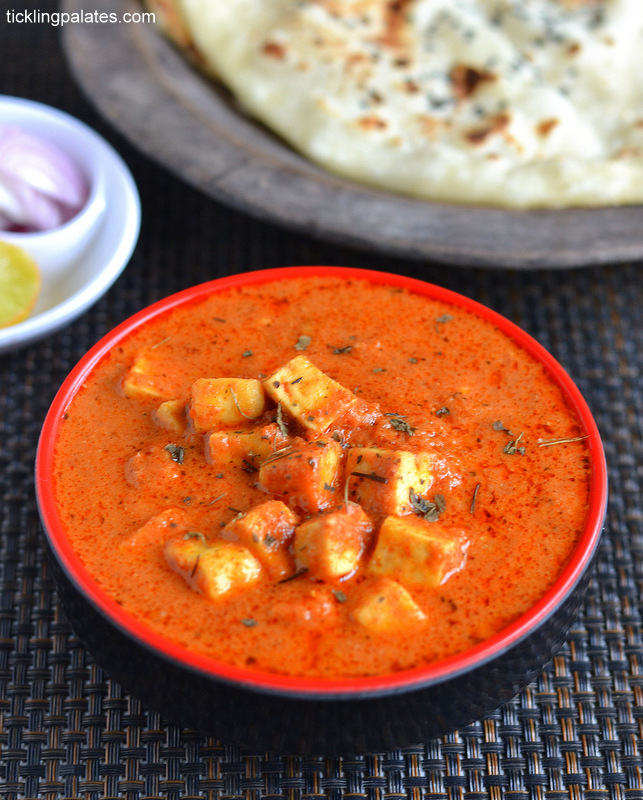 15 Mins Paneer Butter Masala Recipe   Easy Paneer Recipes   Tickling     15 mins Paneer Butter Masala