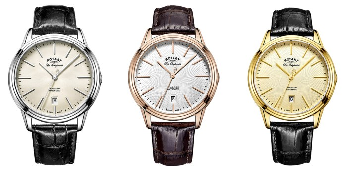 Les Originales Tradition Range - Stainless Steel, PVD Rose Gold, PVD Gold