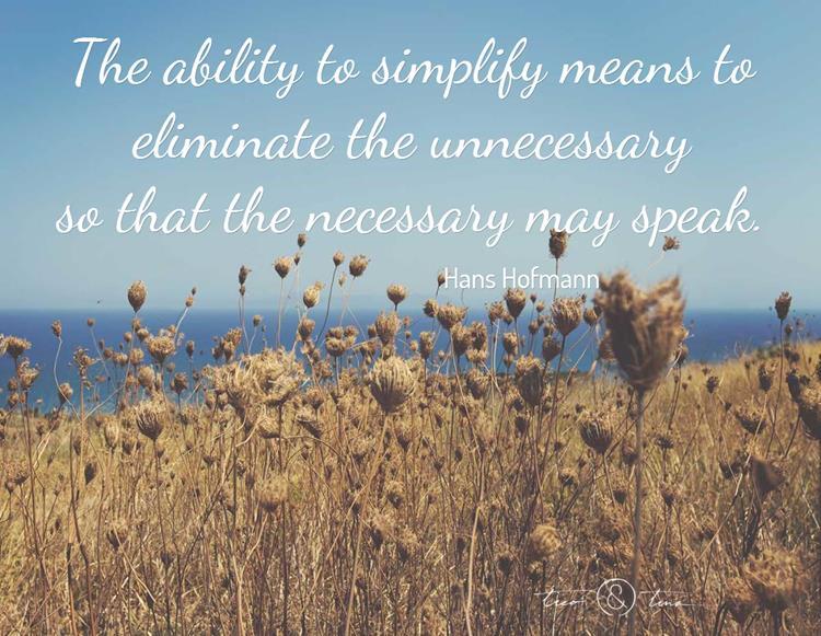simplicity quote 1