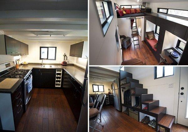 hOMe tiny house design - minimalism, simple living, minimalist living space, small space design