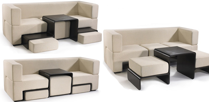 Space Saving Furniture Modular Sofa Designed By Matthew Pauk   Space Saving  Furniture,