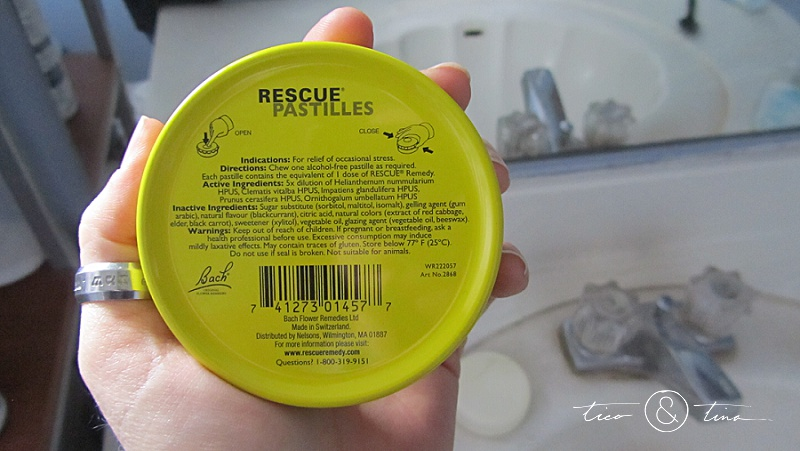 RESCUE pastilles - natural stress relief, remedy