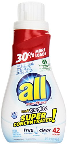 this he detergent is great if any of your loved ones have sensitive skin or allergies to any perfumes or dyes it is also high efficiency certified