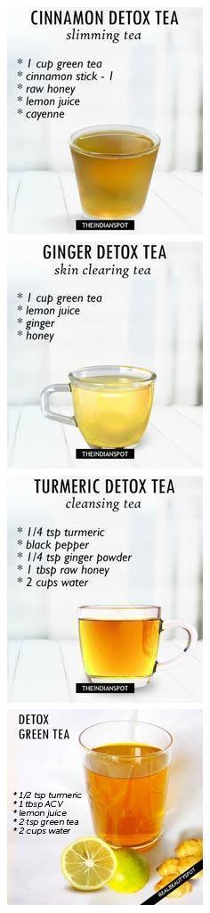 detoxing teas