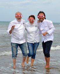 tre chef in mare piccola