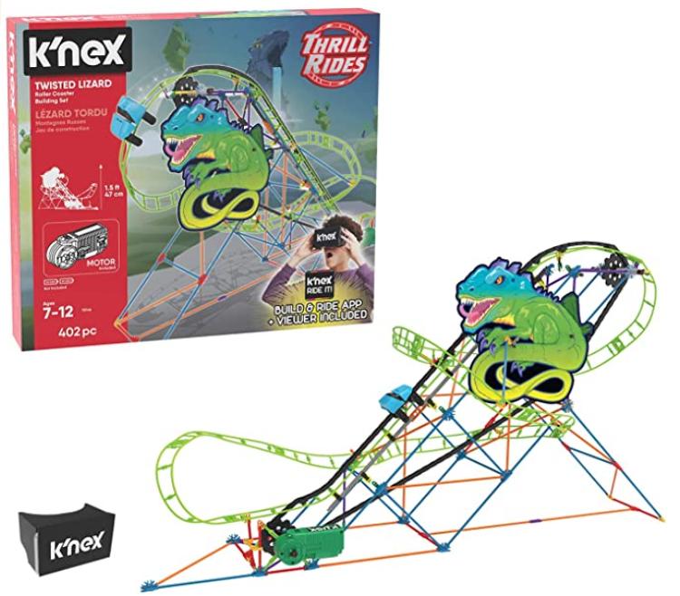 K'NEX Thrill Rides – Twisted Lizard