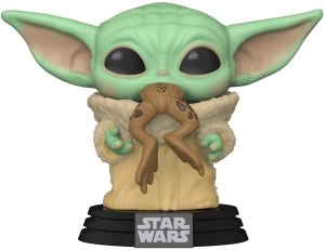 Funko Pop! Star Wars: The Mandalorian - The Child with Frog, Multicolor