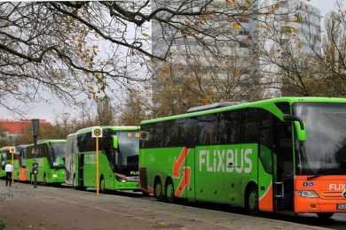 Voyager dans un bus Flixbus : anecdote d'un trajet peu banal cars Flixbus automne arbres