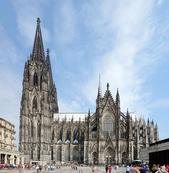 ou partir en octobre cologne cathedrale