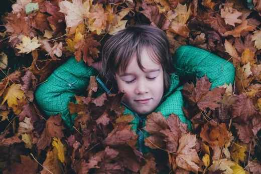 Que faire à la toussaint ? Enfant automne