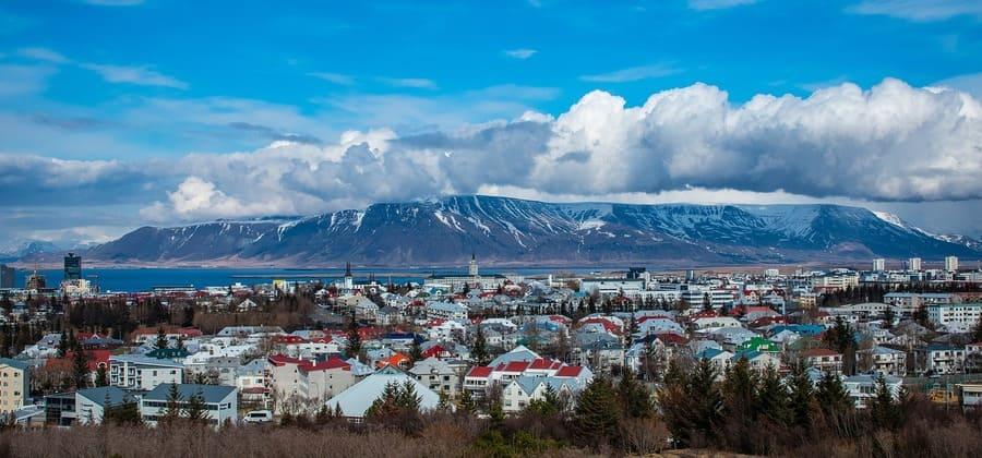 week end en islande - panorama perlan