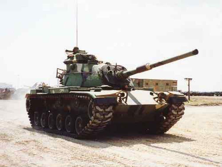 chars de combat M60 Patton - avalanche contrôlée
