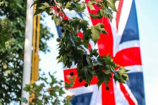 aller en angleterre - drapeau britannique