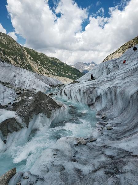 anecdotes de montagne - la mer de glace glacier en haute savoie