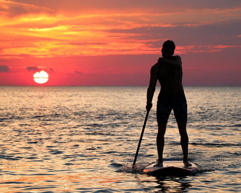 activités station balnéaire - standup paddle